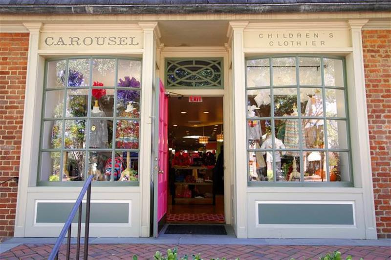 The Carousel children's clothing store